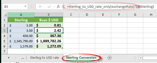 excel getting a single value from a large data feed 10921 - Excel; getting a single value from a large data feed