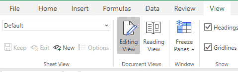 excel sheet view solves a collaboration problem microsoft office 34008 - Excel Sheet View solves a collaboration problem