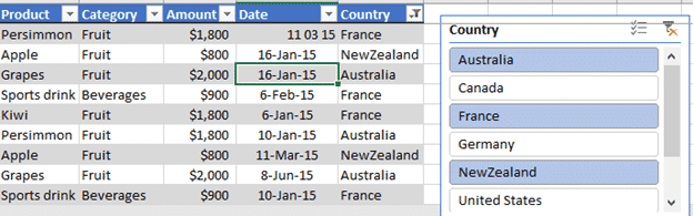 excel slicers beyond pivottables into tables 16268 - Excel Slicers beyond PivotTables into Tables