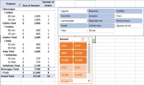 excel slicers for pivottables 15770 - Excel Slicers for PivotTables