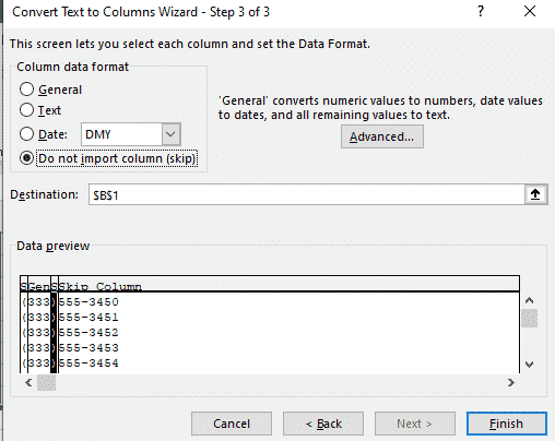 excel text to columns microsoft office 31416 - Excel Text to Columns