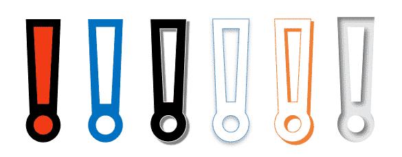 Heavy Exclamation Emoji in Microsoft Word