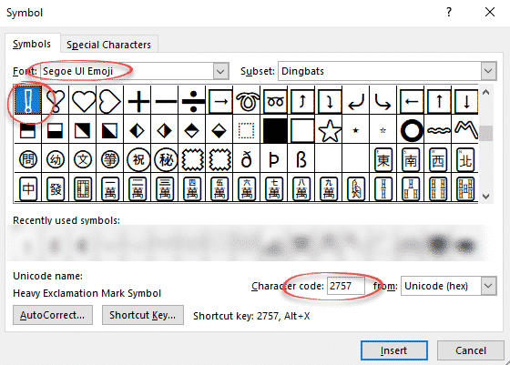 explore five yes five different exclamation mark in word microsoft office 28474 - Explore five (yes FIVE) different Exclamation Mark ! in Word