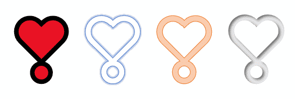 Heavy Heart Exclamation Emoji in Microsoft Word