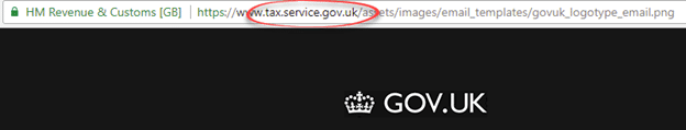 fake uk government email can show up in outlook and should be deleted 18455 - Fake UK government email can show up in Outlook and should be deleted