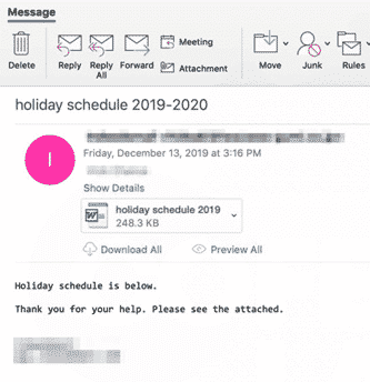 festive malware arrives via word documents microsoft outlook 33400 - Festive malware arrives via Word documents