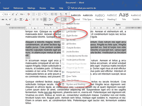 five ways to add vertical lines in word microsoft word 28842 - Five ways to add vertical lines in Word