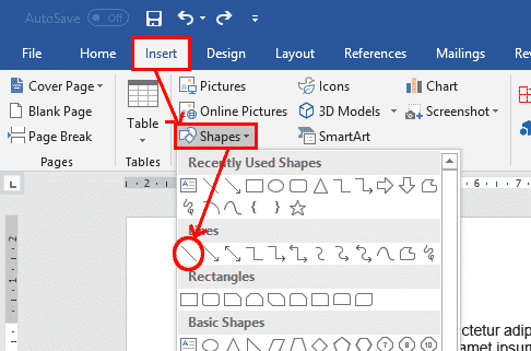 five ways to add vertical lines in word microsoft word 28845 - Five ways to add vertical lines in Word