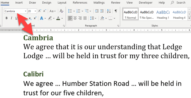 font fraudsters caught again microsoft word 25718 - Font Fraudsters caught again