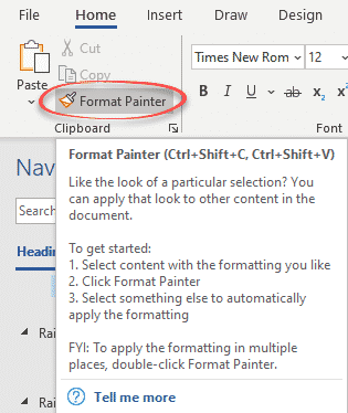 format painter with shapes and gradients microsoft office 37101 - Format Painter with Shapes and gradients