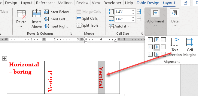 four more vertical formatting tricks in word microsoft word 28901 - Four more vertical formatting tricks in Word