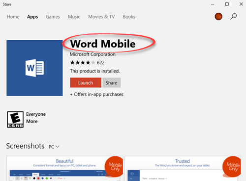 get the hidden office mobile apps for windows 10 14403 - Get the hidden Office Mobile apps for Windows 10