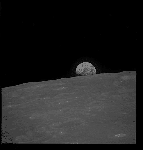 get the real original earthrise photos from apollo 8 25249 - Get the real, original Earthrise photos from Apollo 8