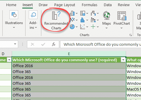 getting microsoft forms results into excel microsoft excel 26881 - Getting Microsoft Forms results into Excel