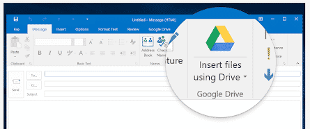google drive plug for office ending soon microsoft outlook 27129 - Google Drive plug for Office ending soon
