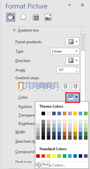 gradient and rainbow picture borders in word and powerpoint 35156 - Gradient and Rainbow Picture Borders in Word and PowerPoint