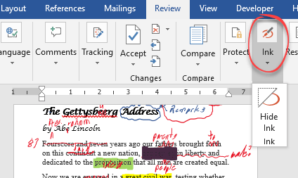 handwritten document editing without pen or paper microsoft word 18533 - Handwritten document editing without pen or paper