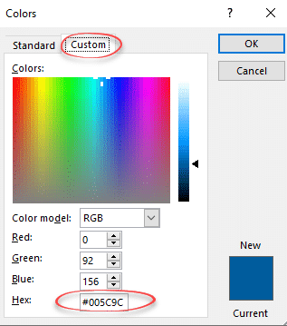 hex color code advantages in office microsoft office 37086 - Hex color code advantages in Office