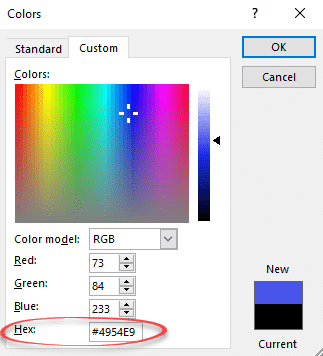 hex color codes microsoft office 365 35196 - Hex color codes coming to Office
