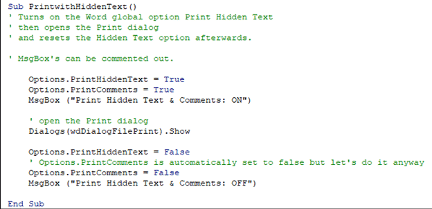 hidden text printing options and workaround for word microsoft office 33714 - Hidden Text Printing options and workaround for Word