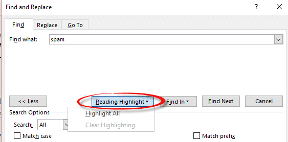 highlighting text in word powerpoint excel and outlook 5924 - Highlighting text in Word, PowerPoint, Excel and Outlook