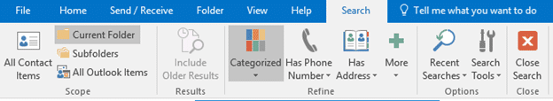 how to find all contact groups in outlook 16041 - How to find all Contact Groups in Outlook