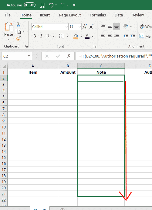 if and nested if statements in excel 33254 - IF and Nested IF Statements in Excel