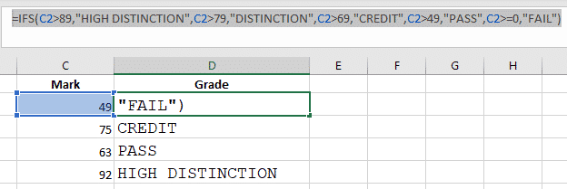 if and nested if statements in excel 33271 - IF and Nested IF Statements in Excel