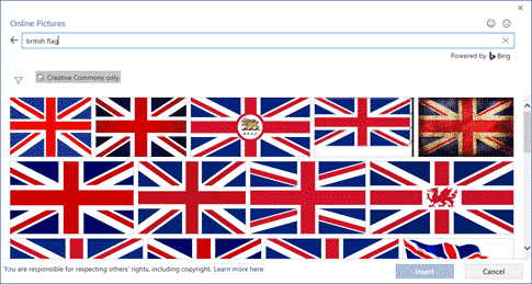 insert the british flag into word excel or powerpoint microsoft office 34394 - Insert the British 'Union Jack' flag into Word, Excel or PowerPoint