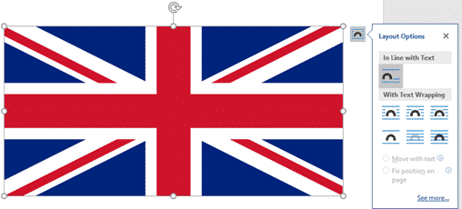 insert the british flag into word excel or powerpoint microsoft office 34396 - Insert the British 'Union Jack' flag into Word, Excel or PowerPoint