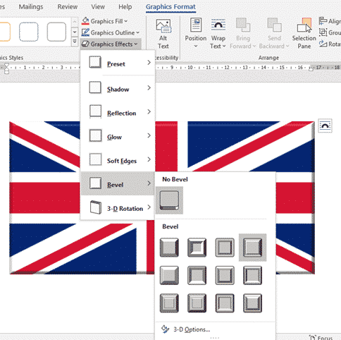 insert the british flag into word excel or powerpoint microsoft office 34399 - Insert the British 'Union Jack' flag into Word, Excel or PowerPoint