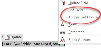 insert the current date and time into word microsoft word 23388 - Insert the current date and time into Word
