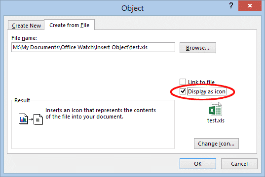inserting or linking other files into word documents microsoft office 29934 - Inserting or linking other files into Word documents