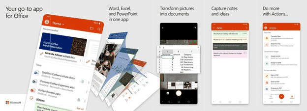 inside the office all in one app for apple and android microsoft office 32177 - Inside the Office 'all in one' app for Apple and Android