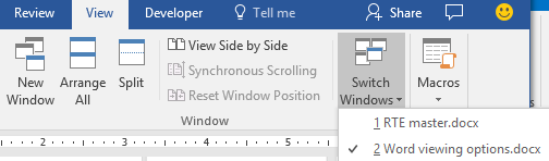 interesting ways to view a document in word 11249 - Interesting ways to view a document in Word