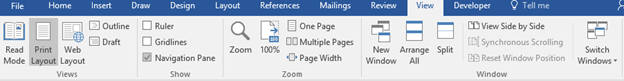 interesting ways to view a document in word 11258 - Interesting ways to view a document in Word