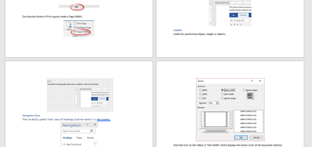 interesting ways to view a document in word 11267 - Interesting ways to view a document in Word