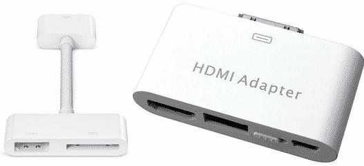iPad video adapter trap