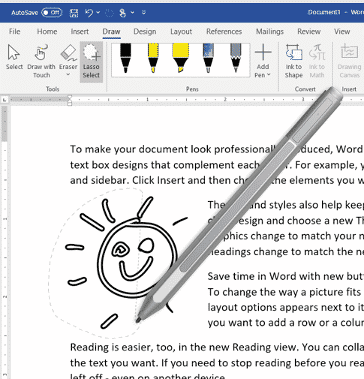 lasso improvements in word 365 for windows microsoft office 34515 - Lasso improvements in Word 365 for Windows