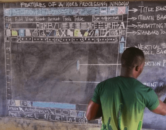 learn word from a blackboard drawing microsoft office 17274 - Learn Word from a blackboard drawing!
