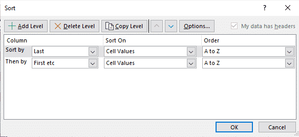 limitations of word sort feature for name sorting microsoft office 28205 - Limitations of Word Sort feature for name sorting