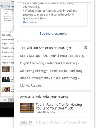 linkedin resume assistant for word 2016 15686 - LinkedIn Resume Assistant for Word 2016
