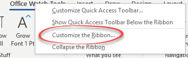 make a custom ribbon tab for in word excel powerpoint or outlook 22718 - Make a custom ribbon tab for Word, Excel, PowerPoint or Outlook