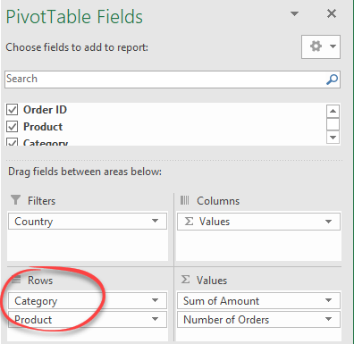 make an excel pivottable with multiple or nested rows 15438 - Make an Excel PivotTable with multiple or nested rows