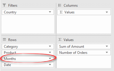make an excel pivottable with multiple or nested rows 15439 - Make an Excel PivotTable with multiple or nested rows