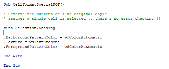 make styles for individual table cells in word microsoft office 33736 - Make styles for individual table cells in Word
