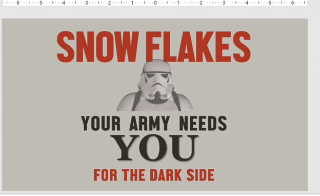 make your own snow flakes posters in word or powerpoint microsoft office 25466 - Make your own 'Snow Flakes' posters in Word or PowerPoint