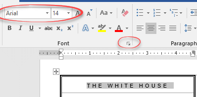 make your own white house notepaper with microsoft word microsoft office 17681 - Make your own White House notepaper with Microsoft Word