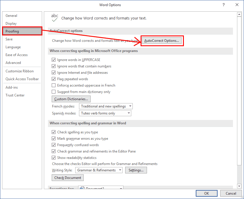 making autotext entries in word 36034 - Making AutoText or AutoCorrect entries in Word