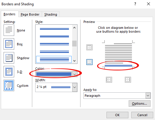 making lines in word and stopping them 7959 - Making lines in Word and stopping them!